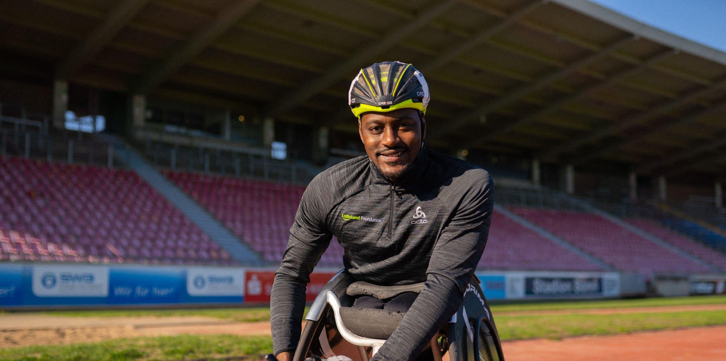 Paralympics 2021 with Alhassane Baldé
